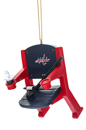 Washington Capitals Official NHL 4 inch x 3 inch Stadium Seat Ornament