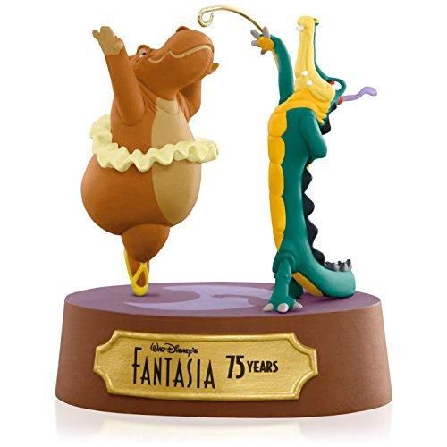 Disney Fantasia Dancing Hippo and Alligator Ornament 2015 Hallmark