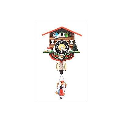 Alexander Taron Home Seasonal Décorative Accessories Engstler Key Wound Clock – Mini Size – 4″H x 4.25″W x 3″D