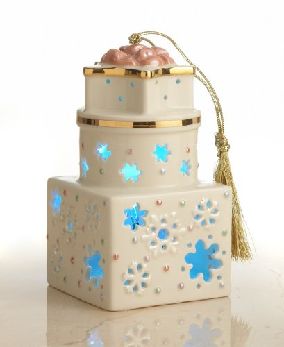 Lenox Christmas Ornament, 4.5″ Shimmering Lights Gift