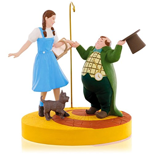 The Wizard Of Oz – Ding-Dong The Witch Is Dead! Dorothy, Toto and Munchkins Ornament 2015 Hallmark