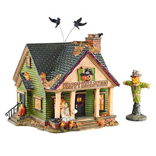 Department 56 Halloween Village 4044881 The Scarecrow House New 2015