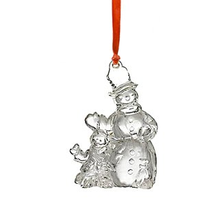 Waterford Crystal Made in Ireland Jolly Snowman Ornament