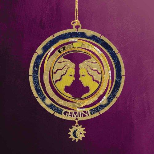 ChemArt 2.5″ Collectible Keepsakes Gemini Zodiac Christmas Ornament