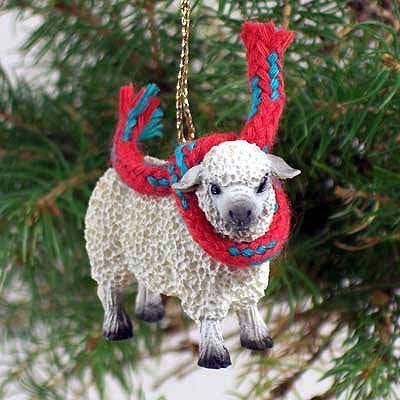 Conversation Concepts Sheep White Original Ornament