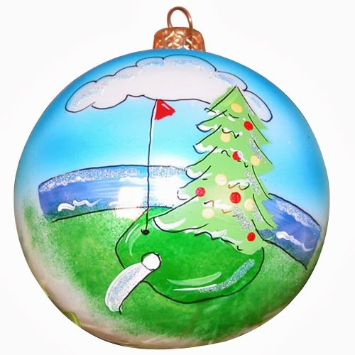 Ornaments to Remember: GOLF Christmas Ornament (Tree In One)