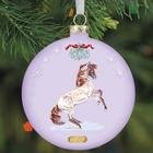 Breyer Artist Signature Mustang Ornament