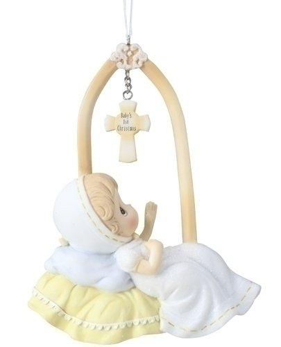 Precious Moments Precious Moments 4-Inch Baby s First Christmas Ornament