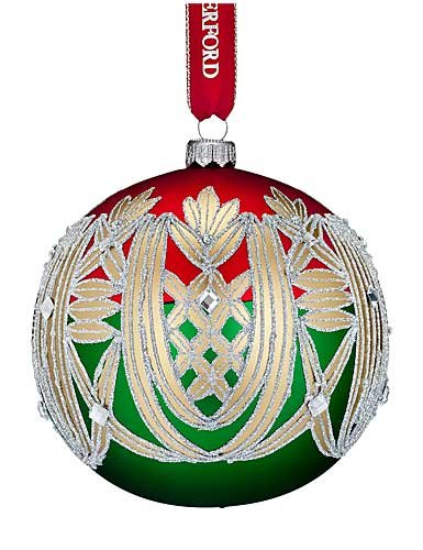 Waterford HH Clare Ball Ornament