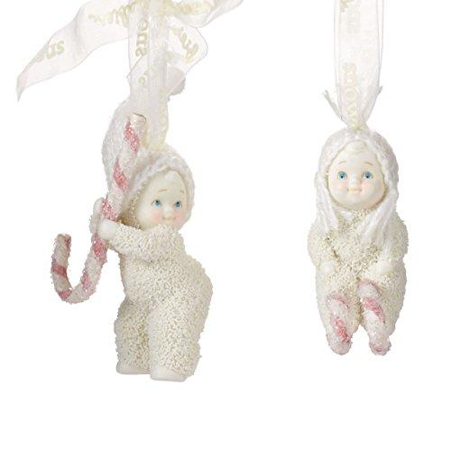 Snowbabies 'Peppermint Dreams' Set of 2 Ornaments