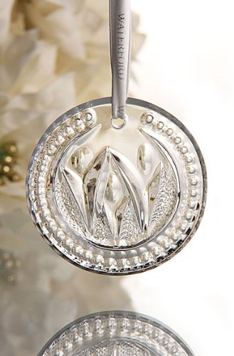 Waterford Crystal Times Square 2012 Disk Ornament Let There Be Friendship