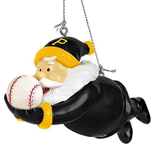 Pittsburgh Pirates MLB Diving Santa Resin Christmas Tree Ornament