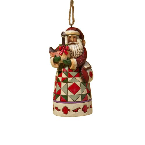 Jim Shore Heartwood Creek from Enesco Canadian Santa Christmas 4.75 IN