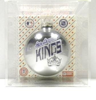 Los Angeles Kings Glass Ornament