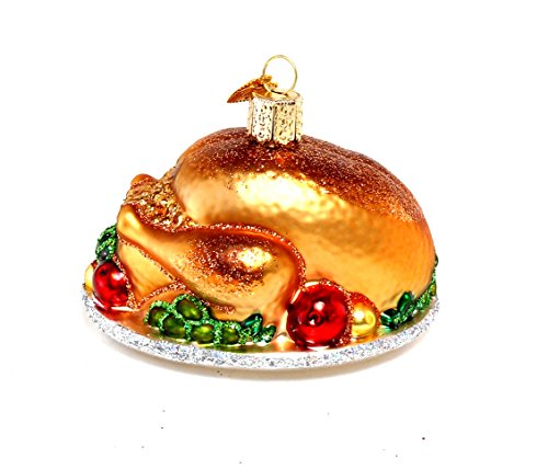 Old World Christmas Turkey Platter Ornament