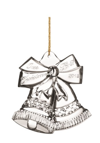Marquis by Waterford 2013 Our First Christmas Decorative Ornament, 4-Inch