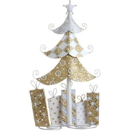 RAZ Imports – 22″ Christmas Tree with Presents