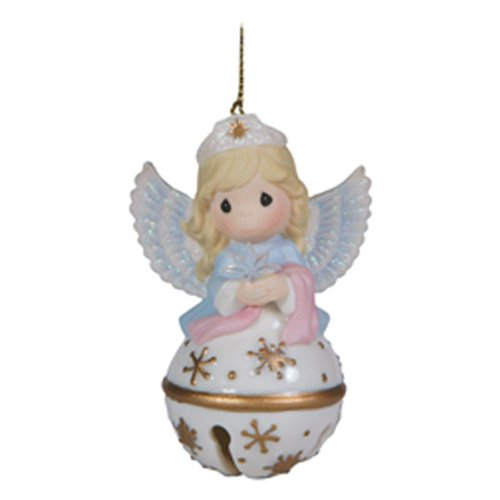 Precious Moments Angel Jingle Bell Hanging Ornament