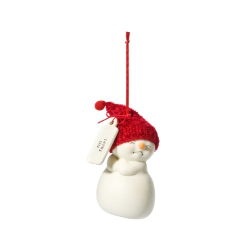 Department 56 Snowpinions No Fair Snowman Ornament