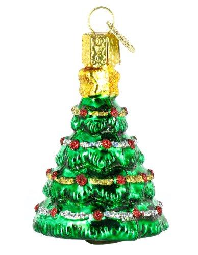 Old World Christmas Mini Christmas Tree Ornament
