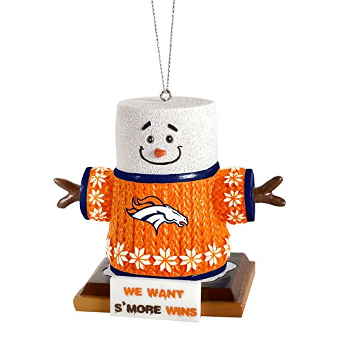2015 NFL Football Team Logo Smores Holiday Tree Ornament – Pick Team (Denver Broncos)