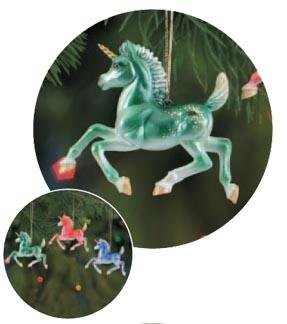 Breyer Unicorn Fillies Ornament Collection