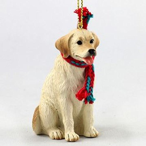 Labrador Retriever Yellow Original Ornament, Large