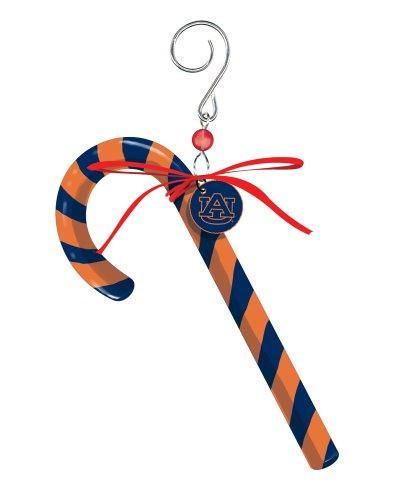 Auburn University Candy Cane Christmas Ornament