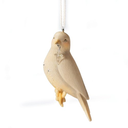 Enesco Foundations Dove Ornament, 3-Inch