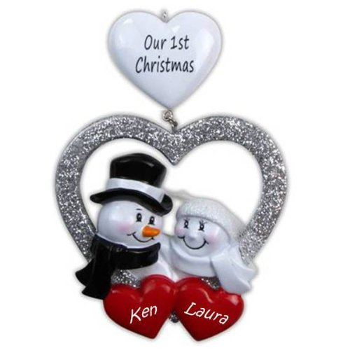Our First Christmas Personalized Ornament or Decor