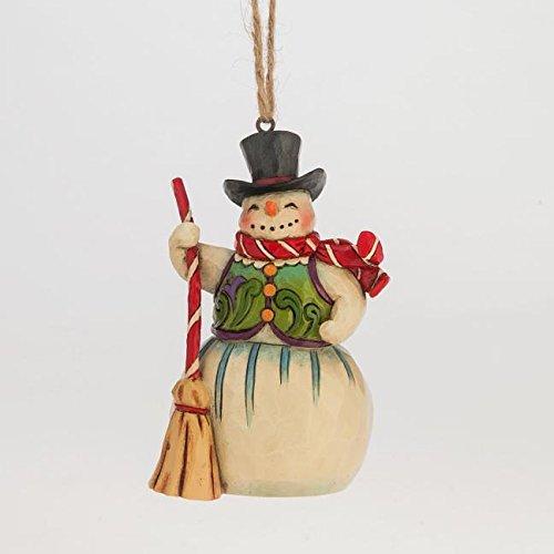 Js Hwc H/O Snowman W/Broom Min
