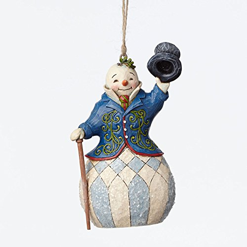 Enesco Jim Shore Victorian Snowman Ornament