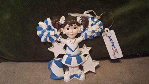 Polar X Ornaments Cheerleader Blue & White