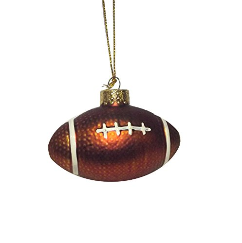 SPORTS BALL ORNAMENT FOOTBALL