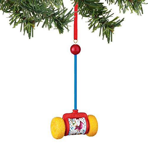 Department 56 Fisher Price Push Toy Ornament
