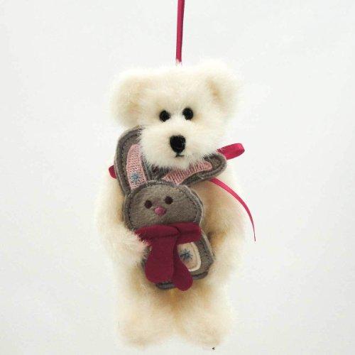 Boyds Bears Plush BUNNI ORNAMENT 4028361 Christmas Plush New