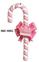 Pink Candy Cane Crown