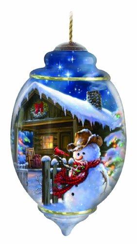 Ne'Qwa Christmas at The Cabin Ornament