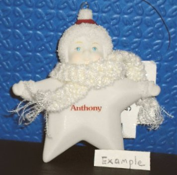 Department 56 My Brightest Star Snowbabies Christmas Ornament – Cody