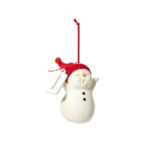 Department 56 Snowpinions Whatever Snowman Ornament