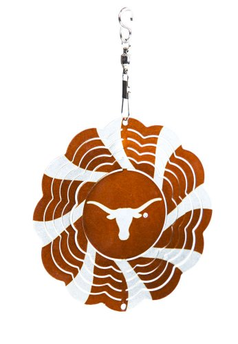 University of Texas Geo Spinner Christmas Ornament