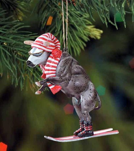 Breyer PBR Blueberry Wine Bull Ornament
