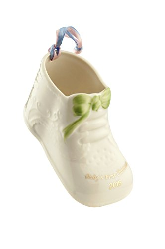 Belleek Baby's First Christmas 2015 Ornament