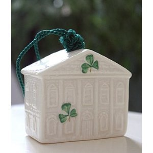Belleek Old Parliament House Annual 2011 Ornament, 2.3″