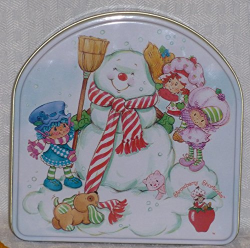 Strawberry Shortcake and Friends – Holiday Tin and 3 Ornaments: Strawberry Shortcake / Blueberry Muffin / Raspberry Tart