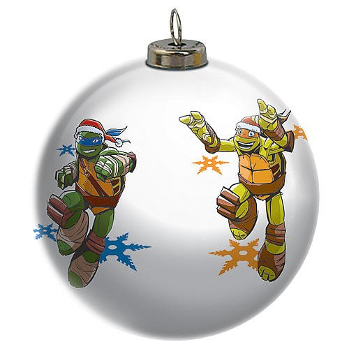 2015 Teenage Mutant Ninja Turtles Light Up Ball Carlton Ornament