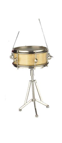 Music Treasures Co. Snare Drum Christmas Ornament