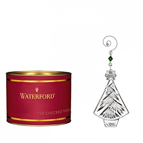 Waterford Crystal Giftology Collection Christmas Tree Ornament