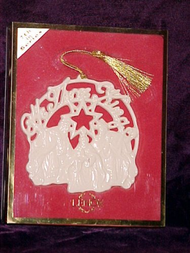 Lenox We Three Kings Christmas Tree Ornament NEW in Box