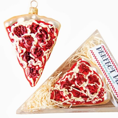 Ornaments to Remember: PIZZA SLICE Christmas Ornament